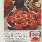 """1958 Dinty Moore Ad """"Beef Stew Marengo"""""""