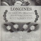 "1958 Longines-Wittnauer Watch Company Ad ""Most Honored"""