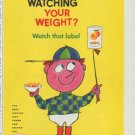"1958 Sucaryl Ad ""Watching Your Weight?"""