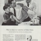"1958 Parke-Davis Ad ""This is what we work for"""