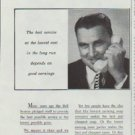 "1958 Bell Telephone System Ad ""Low telephone earnings"""