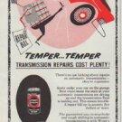 """1958 Wynn Oil Company Ad """"Temper ... Temper"""""""
