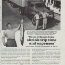 "1958 Eaton Truck Axles Ad ""shrink trip time"""