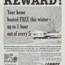 """1958 Lennox Ad """"Reward"""""""