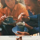"1963 Sanka Coffee Ad ""a lot of coffee"""
