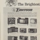 "1963 Emerson Ad ""The Brightest Gifts"""