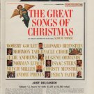 "1963 Goodyear Ad ""The Great Songs Of Christmas"""