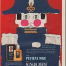 """1963 Kings Men After Shave Ad """"Napoleon"""""""