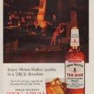 """1963 Ten High Bourbon Ad """"Hiram Walker quality"""""""