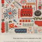 "1963 Chrysler Ad ""Every part"""