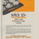 "1963 Betty Lou Cheese Spread Ad ""New Cheese Idea"""