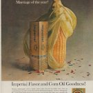 """1963 Imperial Margarine Ad """"Marriage of the year"""""""