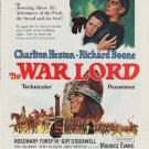 """1965 The War Lord Ad """"Towering Above All Adventures"""""""