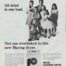 "1965 Maytag Ad ""9 different fabrics"""