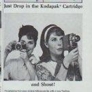 "1965 Yashica Camera Ad ""Yashica Cameras Load Instantly"""