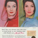 """1960 Pond's Angel Face Ad """"change your skin tone"""""""