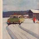 "1960 Firestone Tires Ad ""ice, mud or snow"""