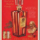 """1960 Old Grand-Dad Ad """"Head of the Bourbon Family"""""""