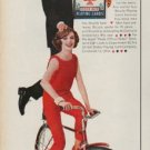 "1960 Bicycle Playing Cards Ad ""She knows"""