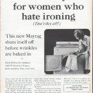 """1961 Maytag Ad """"A new dryer"""""""