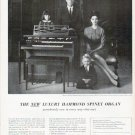"1961 Hammond Organ Ad ""wondrously new in every way"""