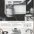 "1961 General Electric Ad ""A Can Opener"""