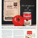 "1961 Campbell's Soup Ad ""This ad"""