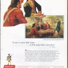 """1961 America Fore Loyalty Group Ad """"Our Destiny"""""""