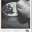 """1961 Gulf Oil Ad """"extra carbon"""""""