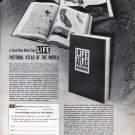 """1961 LIFE Books Ad """"Pictorial Atlas of the World"""""""