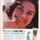 """1961 Borden's Ad """"look and feel great"""""""