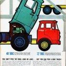 "1961 GMC Trucks Ad ""road, load or laws"""