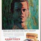 "1961 Compton's Encyclopedia Ad ""half a chance"""