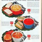 """1961 Campbell's Soup Ad """"Soup 'n Sandwiches"""""""