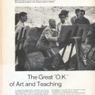 "1961 Oskar Kokoschka Article ""The Great 'O.K.' of Art and Teaching"""