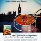 "1962 Knorr Soup Ad ""faraway flavor"""