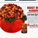 "1962 Mary Kitchen Ad ""Roast Beef Hungry"""