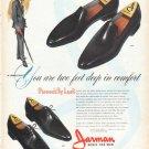 "1962 Jarman Shoes Ad ""two feet deep"""