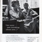 """1962 Bell Telephone System Ad """"thinking about you"""""""