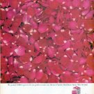 "1961 Yardley Ad ""2,000 fragrant red rose petals"""