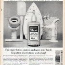 "1961 Revlon Silicare Ad ""winter housework"""