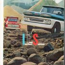 "1961 Chevy Trucks Ad ""They Stay Young"""