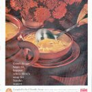 """1961 Campbell's Soup Ad """"soup for Sunday supper"""""""