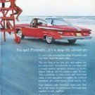 "1961 Plymouth Ad ""long-life adventure"""