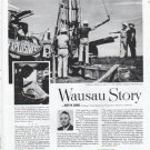 """1961 Employers Mutuals of Wausau Ad """"Explosives and echoes"""""""