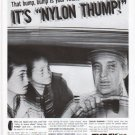 """1961 Tyrex Tires Ad """"Nylon Thump"""""""