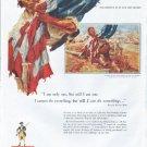 "1961 America Fore Loyalty Group Ad ""Sergeant William Jasper"""