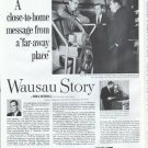 "1961 Employers Mutuals of Wausau Ad ""close-to-home"""