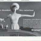 "1961 Sucaryl Ad ""No thanks"""