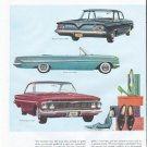 """1961 Chevrolet Ad """"right down to your shoes"""""""